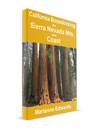 California Boondocking: The Sierra Mountains and Coast