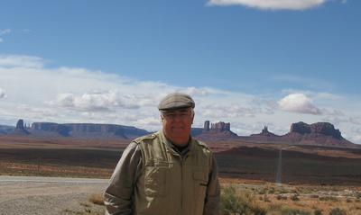 William at Monument Valley