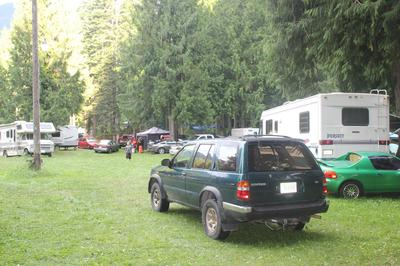 Halfway House Bar and Grill free campsite